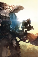 Preview iPhone wallpaper Titanfall, Xbox game