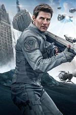 Preview iPhone wallpaper Tom Cruise, Oblivion
