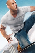 Preview iPhone wallpaper Vin Diesel, Fast and Furious