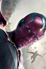 Preview iPhone wallpaper Vision, Avengers: Age of Ultron