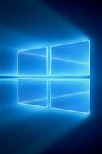 Windows 10, blue light