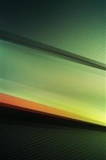 Windows 10 tema, fundo abstrato verde