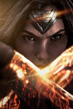 Preview iPhone wallpaper Wonder Woman, Gal Gadot