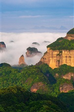 World Natural Heritage, Danxia Mountain, China scenery