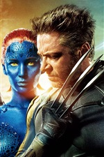 Vorschau des iPhone Hintergrundbilder X-Men: Days of Future Past 2014