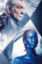 Preview iPhone wallpaper X-Men: Days of Future Past, Ultra HD