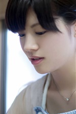 미리보기 iPhone 배경 화면 Yuiko 마츠카와 01