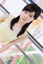 Preview iPhone wallpaper Yuiko Matsukawa 02