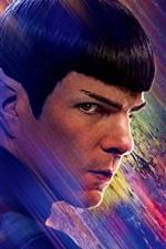 Preview iPhone wallpaper Zachary Quinto, Star Trek Beyond