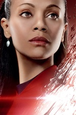 Preview iPhone wallpaper Zoe Saldana, Star Trek Beyond