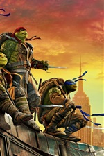 iPhone обои 2016 Teenage Mutant Ninja Turtles: Выйти из тени