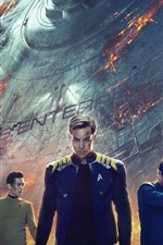 Preview iPhone wallpaper 2016 movie, Star Trek Beyond