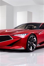 Preview iPhone wallpaper Acura Precision Concept red car