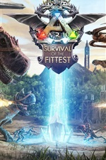Preview iPhone wallpaper Ark: Survival Of The Fittest, PS4 games