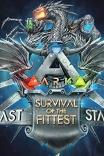 Preview iPhone wallpaper Ark: Survival Of The Fittest