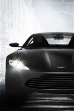 Preview iPhone wallpaper Aston Martin DB10 supercar front view