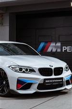 iPhone fondos de pantalla BMW M2 F87 coupé blanco
