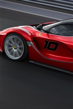 Preview iPhone wallpaper Beautiful car, Ferrari FXX K supercar