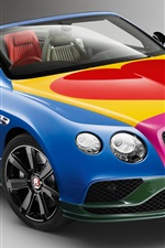 미리보기 iPhone 배경 화면 벤틀리 콘티넨탈 GT V8 S 컨버터블 자동차 아름다운 색상