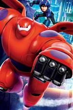Vorschau des iPhone Hintergrundbilder Big Hero 6