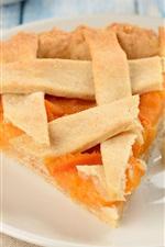 Preview iPhone wallpaper Breakfast food, cake, pancake, almonds, dessert