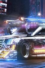 Preview iPhone wallpaper Cadillac Escalade SUV in future, beautiful car