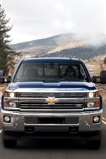Chevrolet Silverado 2500HD Heavy-Duty Work Trucks front view