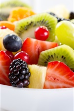 Preview iPhone wallpaper Delicious dessert, fruit salad
