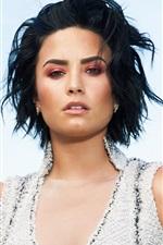Preview iPhone wallpaper Demi Lovato 06