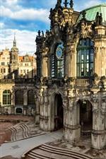 Preview iPhone wallpaper Dresden, Altstadt, Germany, city, building, houses