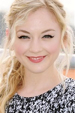 Preview iPhone wallpaper Emily Kinney 06
