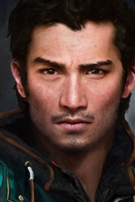 Preview iPhone wallpaper Far Cry 4, main character