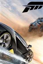 Preview iPhone wallpaper Forza Horizon 3, crazy racing