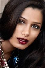 Preview iPhone wallpaper Freida Pinto 02