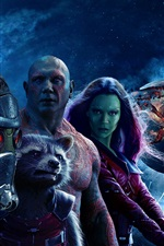 Preview iPhone wallpaper Guardians of the Galaxy Vol. 2