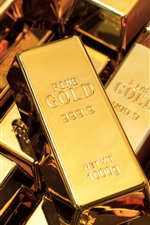Preview iPhone wallpaper High purity gold bullion