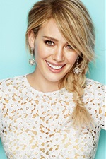 Preview iPhone wallpaper Hilary Duff 10
