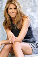 Preview iPhone wallpaper Jennifer Aniston 04