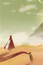 Journey, desert, mountain, sand, creative design