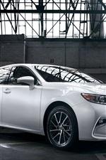 Lexus ES 200 white car side view
