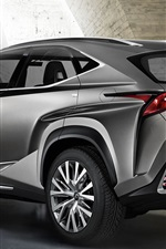 Lexus NF-NX SUV car rear view