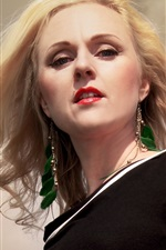 Preview iPhone wallpaper Liv Kristine 03
