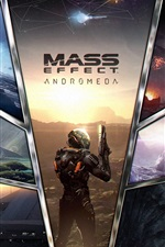 Preview iPhone wallpaper Mass Effect: Andromeda, 2017 PS4 games