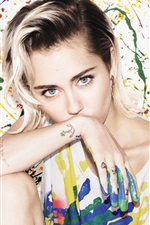 Preview iPhone wallpaper Miley Cyrus 04
