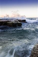 North Narrabeen, Sydney, Australia, sea, coast, rocks