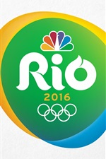 Preview iPhone wallpaper Rio 2016 Olympic Games