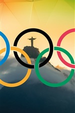 Preview iPhone wallpaper Rio 2016 Olympics