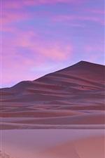 Preview iPhone wallpaper Sahara Desert, palm trees, Morocco