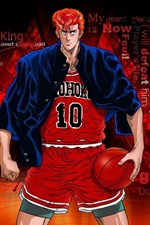 Preview iPhone wallpaper Sakuragi Hanamichi, Slam Dunk