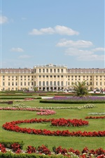 Preview iPhone wallpaper Schonbrunn Park in Vienna, Austria travel place